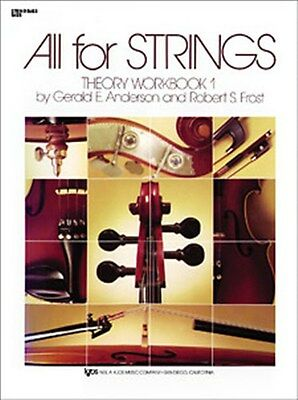 All For Strings Theory Workbook 1 Cello Notenbuch