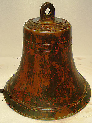Vintage ARDUINO RINA Marine Brass BELL -Great Sounding - Nautical/ Boat (A)