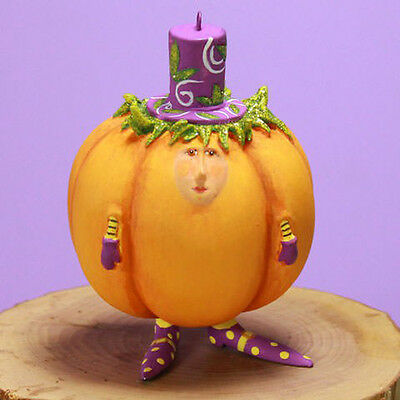 Patience Brewster Halloween – Mini Gourdon Ornament 31035