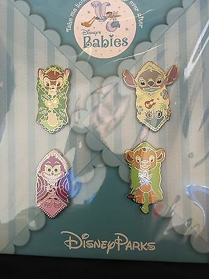 DISNEY Blanket Babies 4 PIN BOOSTER SET