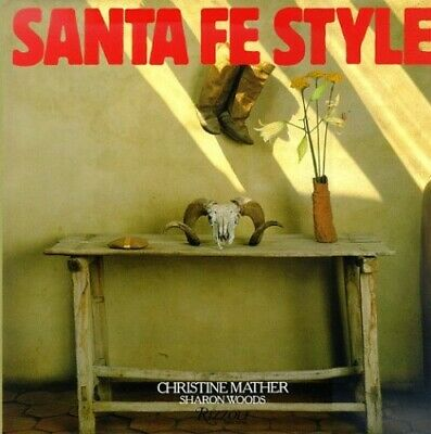 Santa Fe Style by Woods, Sharon Paperback Book The Cheap Fast Free Post