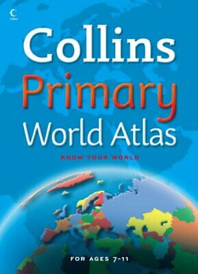 Collins Primary Atlas - World Atlas by Not Known Paperback Book The Cheap Fast