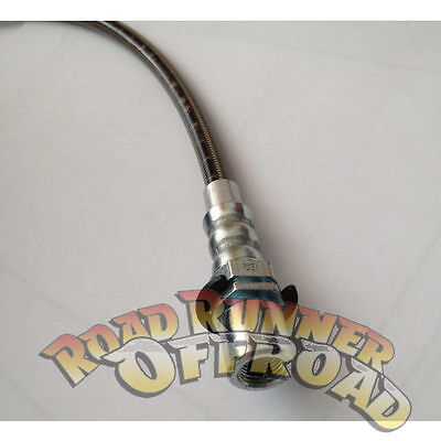 Braided Extended Brake line suit Toyota Landcruiser 80 & 105 Series F or R