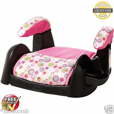 Child Car Seat Backless Booster Chair Armrest Toddler Safety Pink For Kid Kids