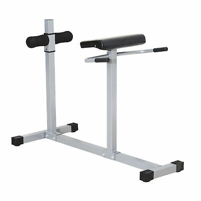 Soozier Roman Hyper Extension Bench Chair Exercise Core Abdomina Fitness Workout
