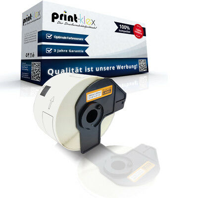 Adress Etiketten Rolle für Brother P Touch QL 570 DK11208 We - Color Print Serie