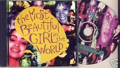 R.I.P Prince - The Most Beautiful girl in the world  USA Cd Single 1994 2 track