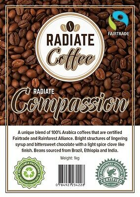 Radiate Compassion Coffee Beans