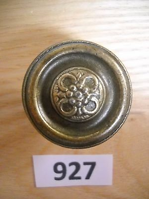 Antique Stellbrass Plated Knob Drawer Pull