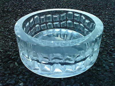 cendrier design moderniste verre Peill & Putzler ashtray glass modernist 70's ?