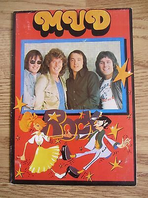 Mud Fan Club ~ Rare Fold Out Poster ~ Excellent Condition