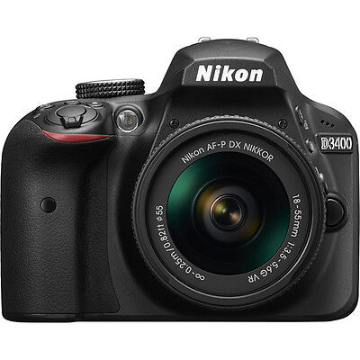 Nikon D3400 DSLR Camera with 18-55mm Lens (Black)!! BRAND NEW!!