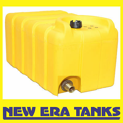 "125 litre diesel tank - vented cap - 3/4"" brass male threaded outlet"