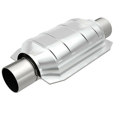 """Magnaflow 94106 Universal High-Flow Catalytic Converter Oval 2.5"""" In/Out"""