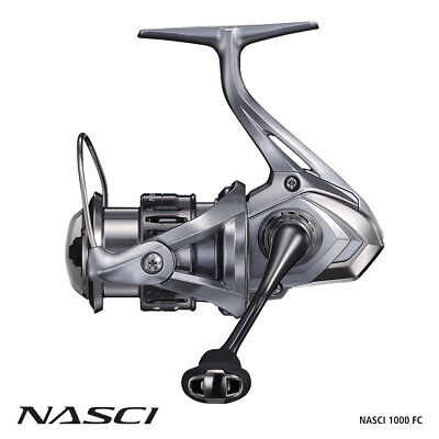 Shimano Nasci 1000 FB Spin Reel BRAND NEW at Otto's Tackle World