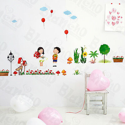 Plant Fun-2 - Wall Decals Stickers Appliques Home Decor