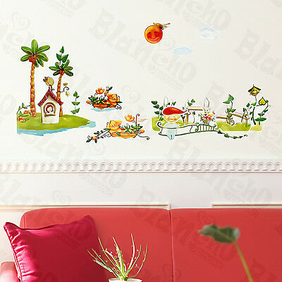Sunny Day - Wall Decals Stickers Appliques Home Decor