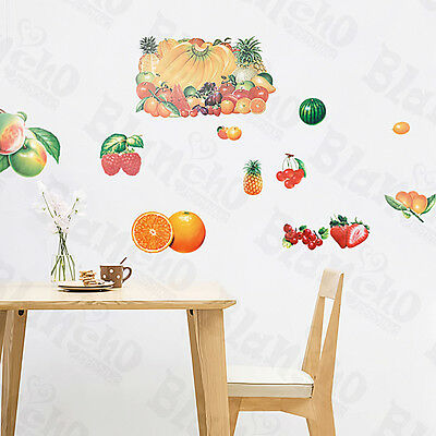 Fruits Collection - Large Wall Decals Stickers Appliques Home Decor