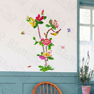 Full-Colour Tree - Wall Decals Stickers Appliques Home Decor