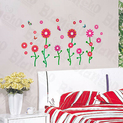 Dancing Flourish - Wall Decals Stickers Appliques Home Decor