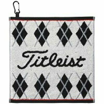 Titleist Golf Hand Towel with hook White AJTWH51 W34�~H35cm