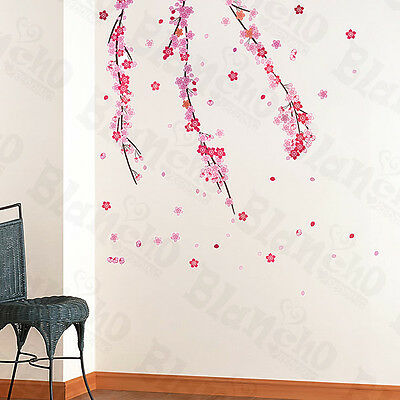 Falling Bloom - X-Large Wall Decals Stickers Appliques Home Decor
