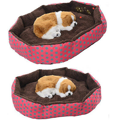 Pet Dog Cat Bed Soft Puppy Cushion House Warm Kennel Dog Mat Pad Blanket