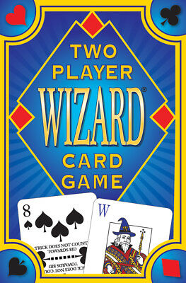 Wizard Special 2 Player Deck NEW 36 Cards Deck Sample score sheet Instructions