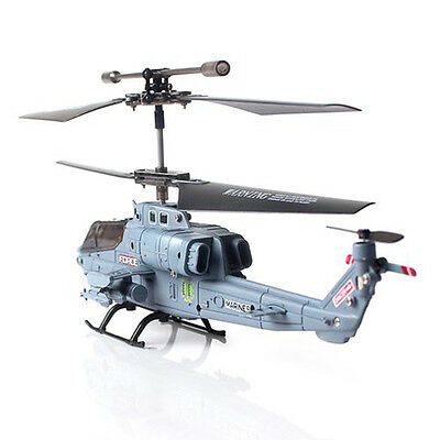 S108G 3 Channel Remote Control RC Helicopter Airplane with Gyro