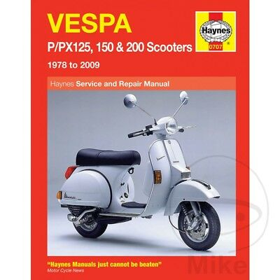 VESPA P/PX125 150&200 (78-14) Haynes Repair Manual 0707
