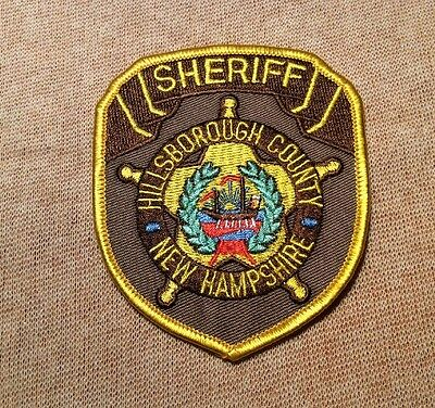 NH Hillsborough County New Hampshire Sheriff Patch (3.5In)