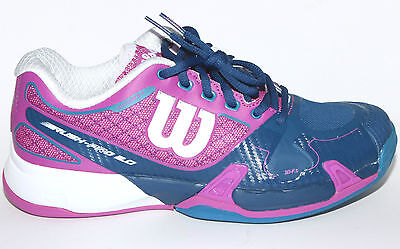 sneakers for cheap 19ee0 46d58 Wilson Rush Pro 2.0 Clay Court Women Eur38 1 3 (Us7-Cm24)
