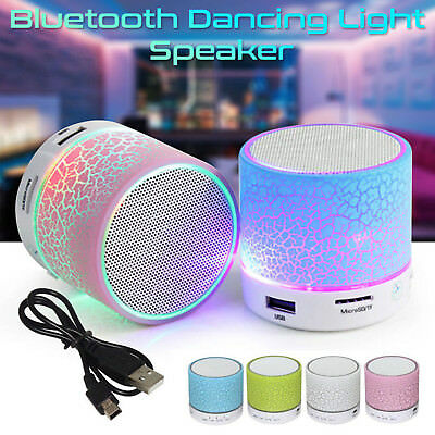 Portable Mini Wireless Stereo Bluetooth USB Speaker Bass For iPhone Tablet PC