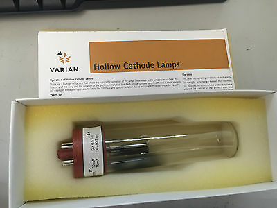 Varian 5610105400  Strontium (Sr) coded single element hollow cathode lamp