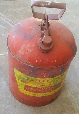 Vintage Eagle Gas Safety Can 5gal.