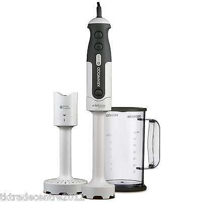 Kenwood HDP300WH 800 Watts Triblade Hand Blender with Masher in White