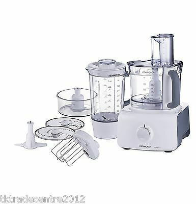 Kenwood FDP613WH Multipro Home Food Processor in White/Grey *