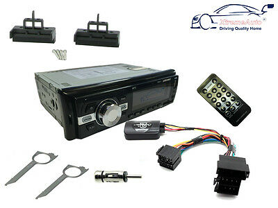 AUDI A2 99-05 Car Stereo Head Unit Radio + Steering Controls + Bluetooth AUX USB