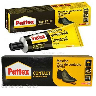 PATTEX SHOE GLUE STRONG ADHESIVE GLUE FOR SHOES LEATHER RUBBER FELT NYLON 30g