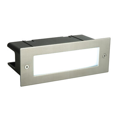SEINA Marine Grade Steel LED Recessed Outdoor Coastal Area Path Brick Light IP44