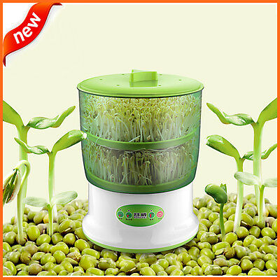 Automatic Bean sprouts machine  multi-functional homemade bean sprout veget.