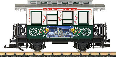 Lgb G Scale 2015 Christmas Passenger Car (1) | Ships In 1 Business Day | 36072