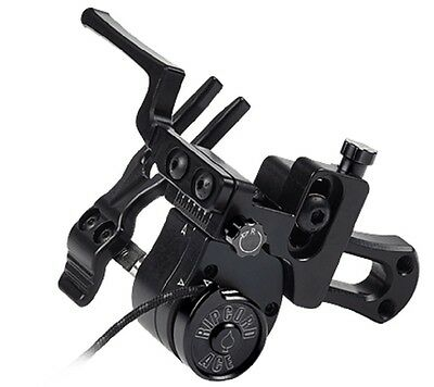 New Ripcord ACE Micro Adjust Fall Away Compound Archery Arrow Rest RH Black