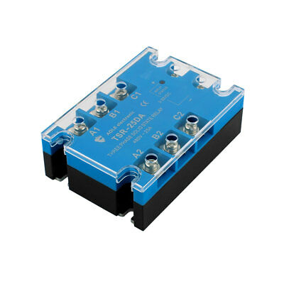 TSR-25DA 3-32VDC to 480VAC 25A Three Phase Solid State Relay Module DC to AC