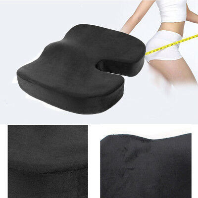 Memory Foam Coccyx Orthopedic Car Seat Office Chair Cushion Pain Relief Pillow A