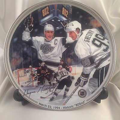 Wayne Gretzky Greatest Moments Historic 802nd Numbered