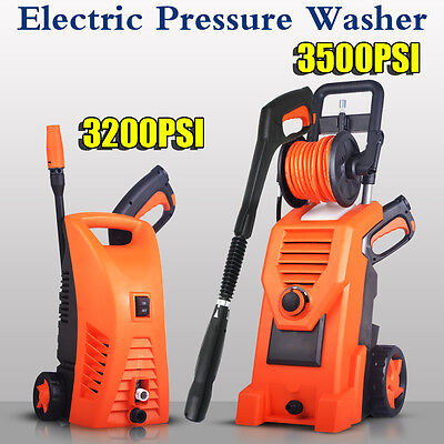 Electric High Pressure Water Cleaner Washer Gun Hose Pump Cleaning Gurney 2 Type