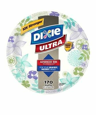 """Dixie Ultra Paper Plate 10-1/16"""" 170 Plates Per Pack"""