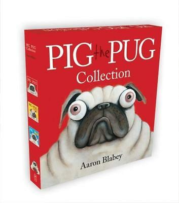 NEW Pig the Pug Collection By Aaron Blabey Hardcover Free Shipping