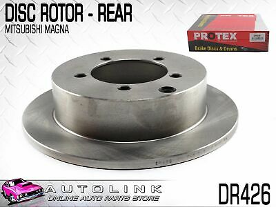 Rear Disc Brake Rotor To Suit Mitsubishi Magna Te Tf Th Tj Tl Tw 4Cyl & V6 (X1)